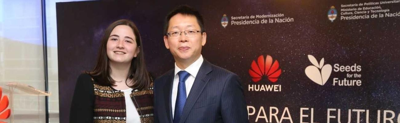 Estudiante de Ingeniería Informática de Pilar se ganó una beca para capacitarse en China