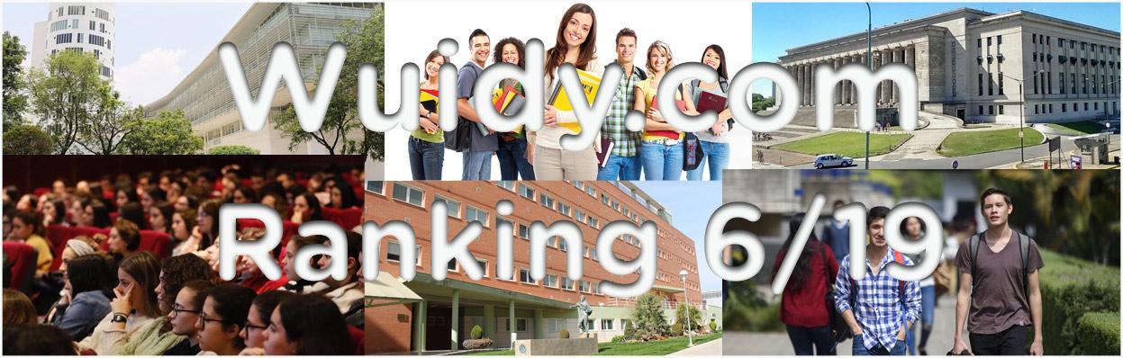 Ranking de Universidades e instituciones y sus programas de estudios, con más pedidos de información en Wuidy.com - Junio´19