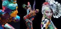 Cursos Americanos Body Painting - Foto 2