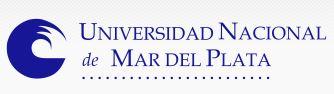 UNMDP - Universidad Nacional de Mar del Plata